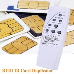 CR66 Handheld 13.56KHz RFID ID Card Duplicator Programmer Reader Writer 3 Buttons Copier Duplicator With Light Indicator