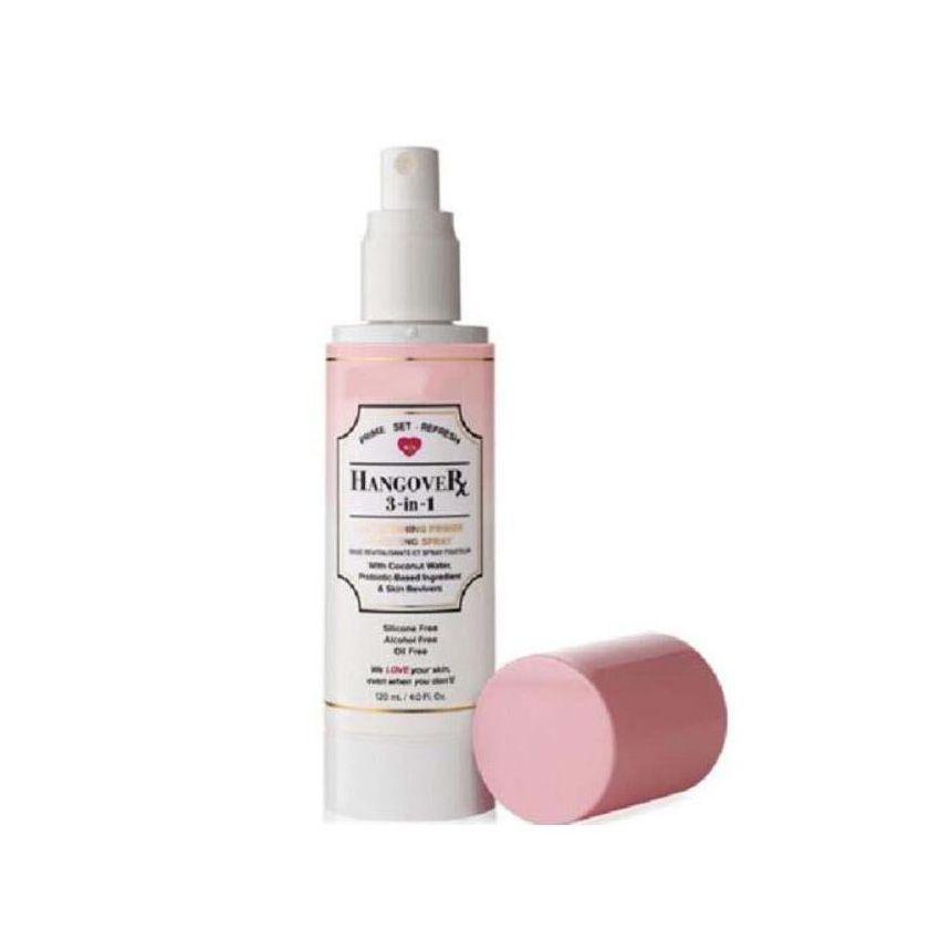 Face Cosmetics Hangover 3 In 1 Replenish Primer and Primed Setting Spray Full Size 4 oz Makeup Mascara 24 Hour Eye Primer