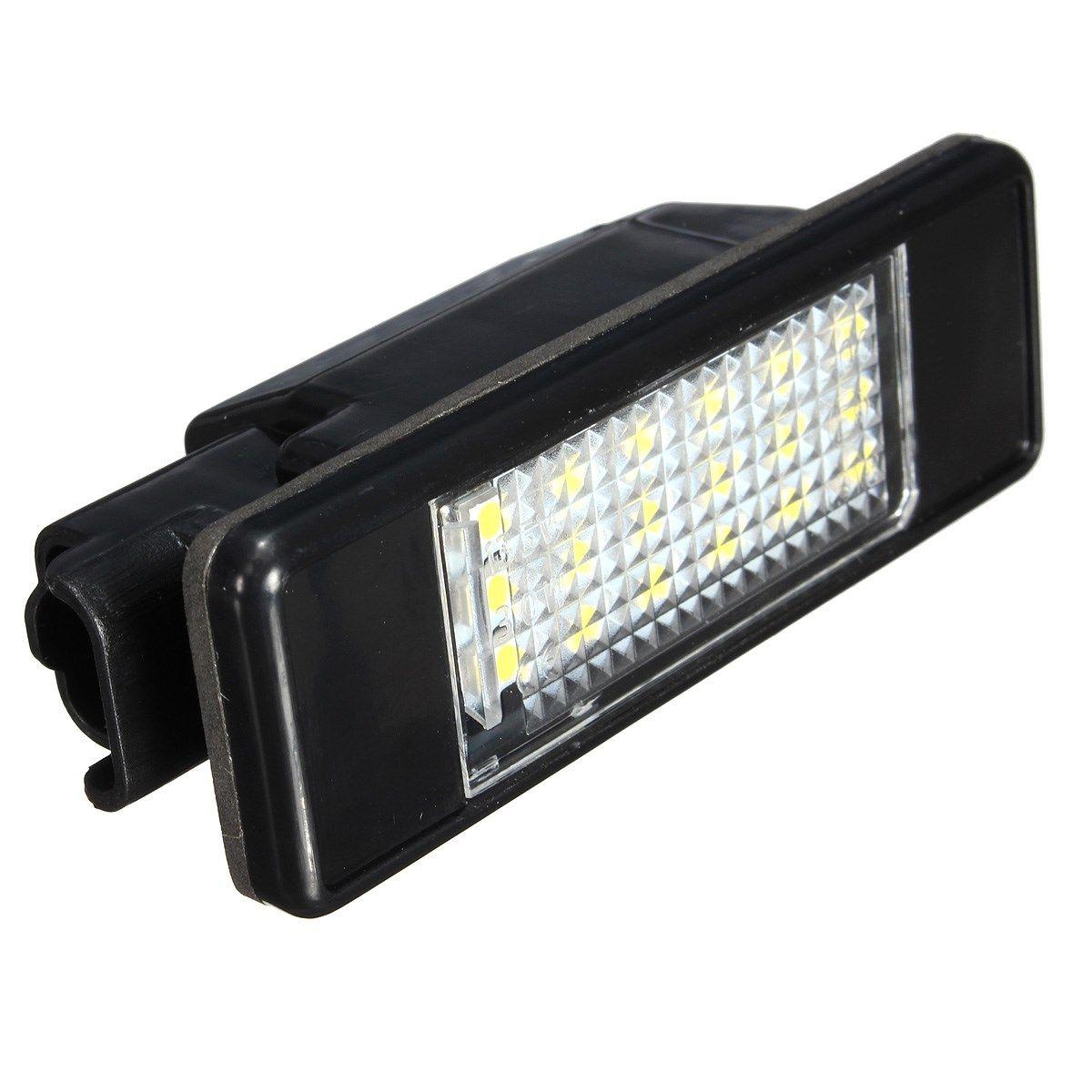 2 x LED SMD Kennzeichen Licht Für Peugeot 106 207 307 308 406 407 508 Weiß