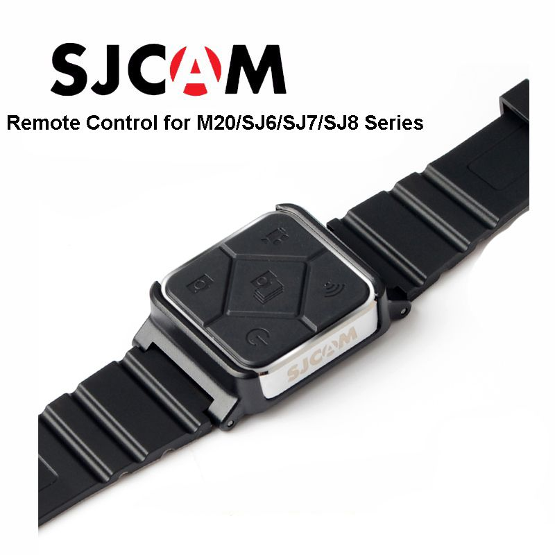 Original SJCAM SJ6 Accessories Remote Control Watch WiFi Wrist Band For SJ CAM M20 SJ6 LEGEND SJ7 Star SJ8 Series Action Camera
