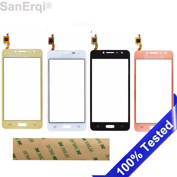 Pour Samsung Galaxy G532 Écran Tactile J2 Premier SM-G532F G532F panneau capteur digitizer Écran avant lentille en verre SanErqi