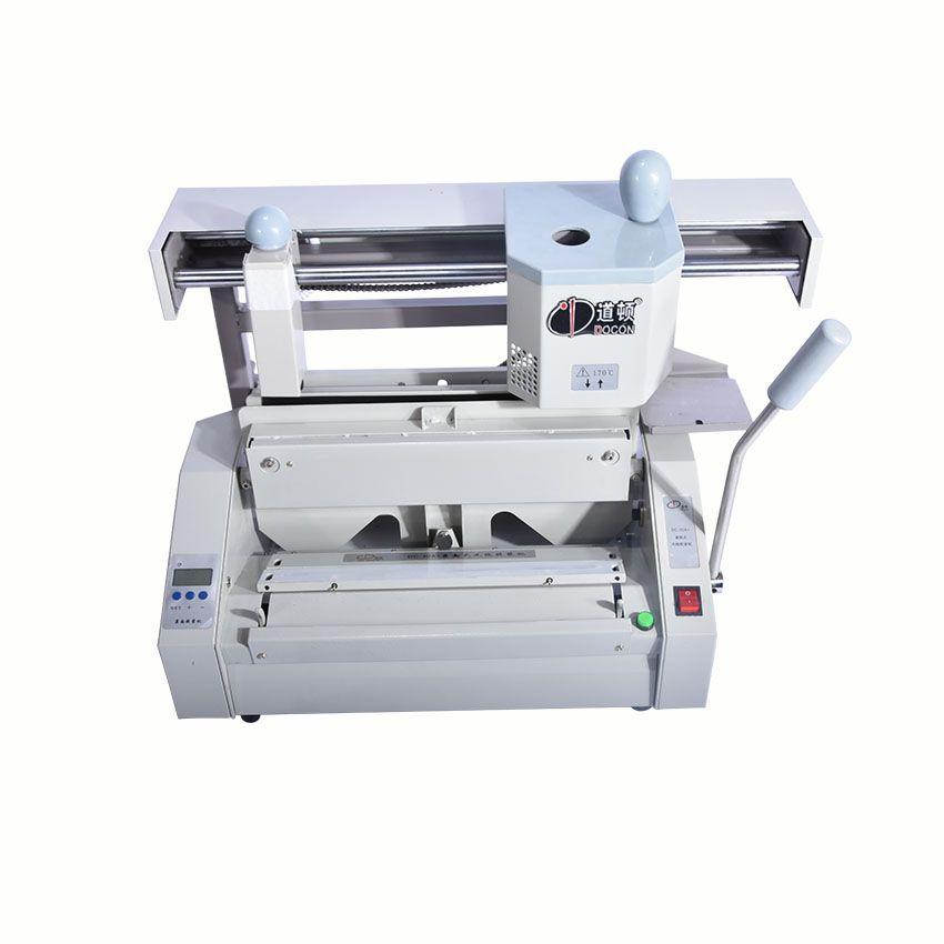 1PC DC-30A+ glue binding machine,perfect binding machine,glue binder,perfect binder,hardcover book binding machine LCD