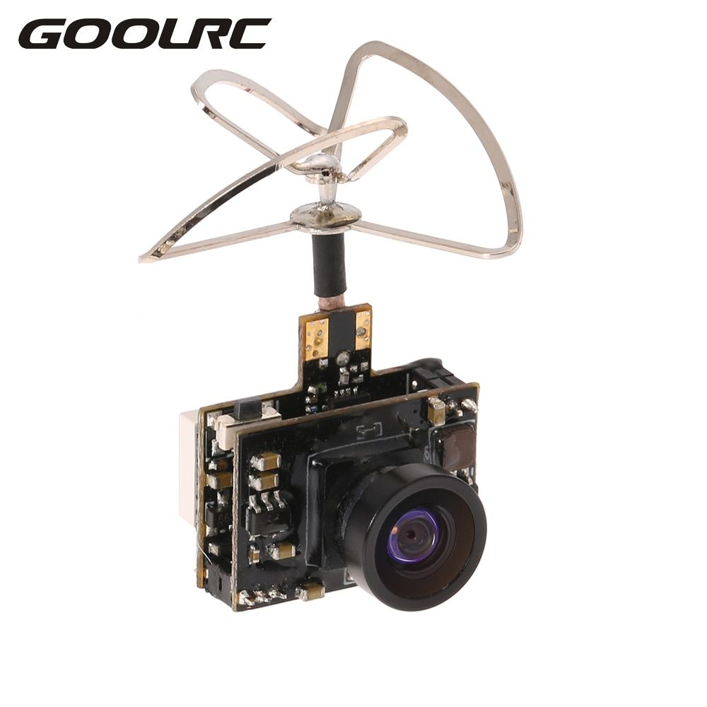 GoolRC 5.8G 40CH 25 100 200mW Transmitter Clover IPEX Antenna 800TV FPV Camera for Inductrix QX90 H36 T36 NH-010 Racing Drone