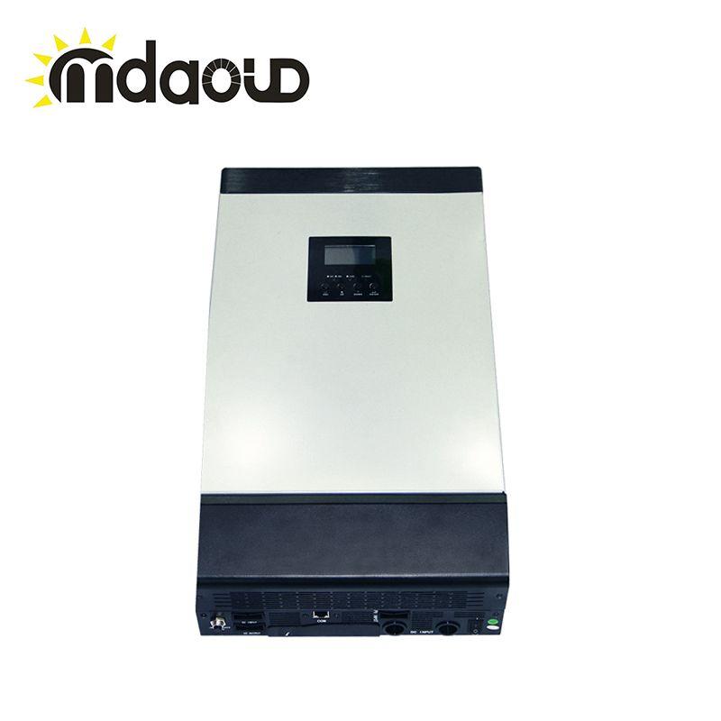 Off grid hybrid solar power inverter 5kva 4000 watt DC 48 V zu 220 V mit solarladeregler Builtin MPPT