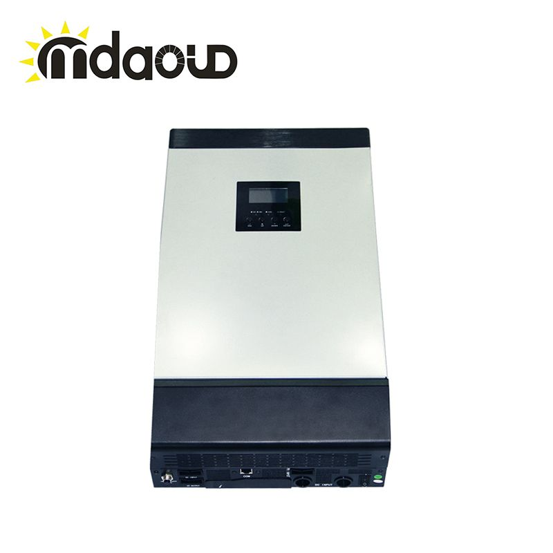 off grid hybrid solar power inverter 5kva 4000w DC 48V to 220V with solar charge controller Builtin MPPT
