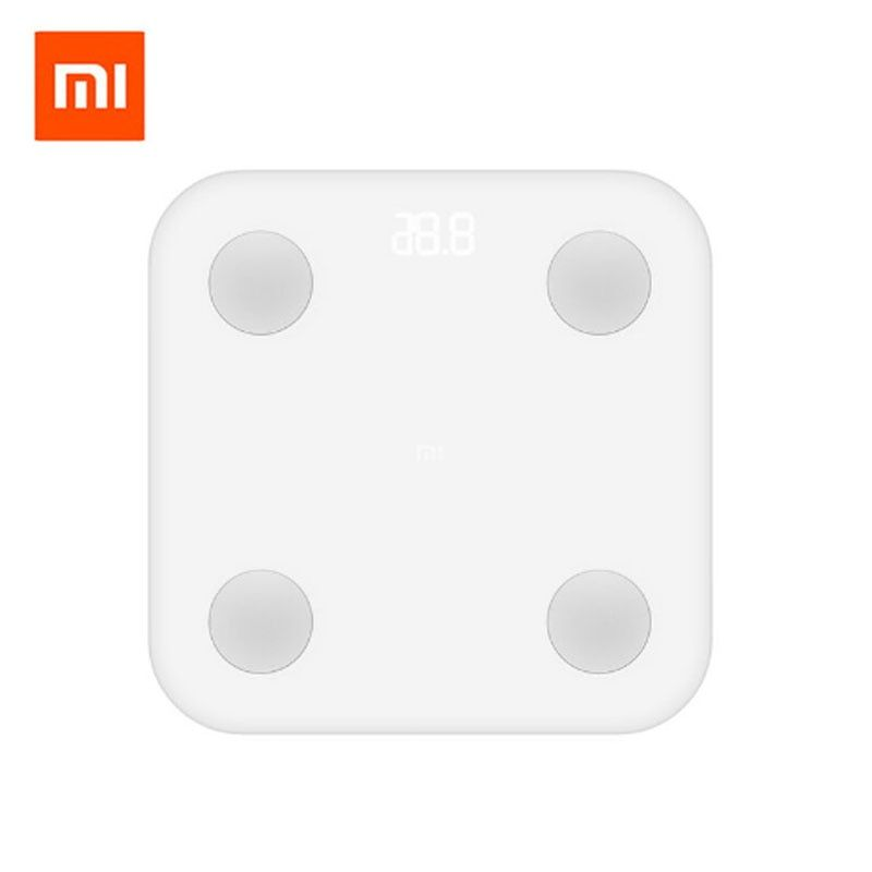 Xiaomi Mi Smart Scale 2th Weight Health Mifit APP Body Composition Monitor Hidden LED Display And Big Feet Pad Body Fat BMR Test