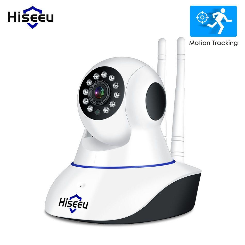 Hiseeu 1080 P caméra IP sans fil caméra de sécurité à domicile caméra de Surveillance Wifi Vision nocturne CCTV caméra bébé moniteur piste intelligente