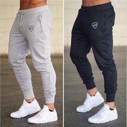 2018 Automne Marque Gymnases Hommes Joggeurs pantalons de Survêtement Hommes Joggers Pantalon Sportives Vêtements La haute qualité Musculation Pantalon