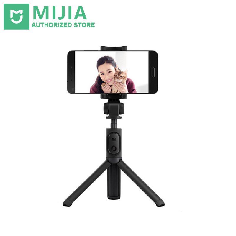 Original Xiao mi Selfie bâton trépied Portable monopode Bluetooth extensible Portable support de trépied pour iOS/Xiao mi/Huawei