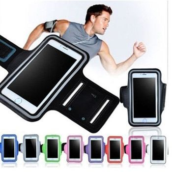 5.1 inch Gym Case for Samsung S5 S6 S7 Sports Jogging ArmBand Bag for Huawei P10 Phone Holder Universal Running Arm Band XS Case