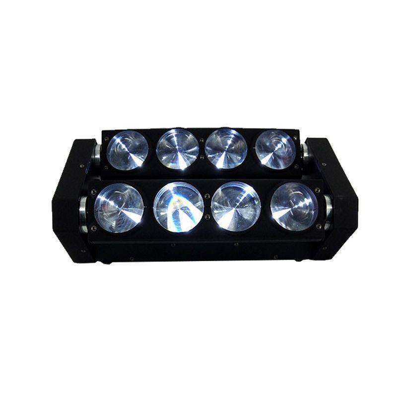 Lot offre spéciale livraison gratuite RGBW 4in1 LED faisceau araignée lumière LED 8x10w barre faisceau tête mobile faisceau LED lumière araignée RGBW