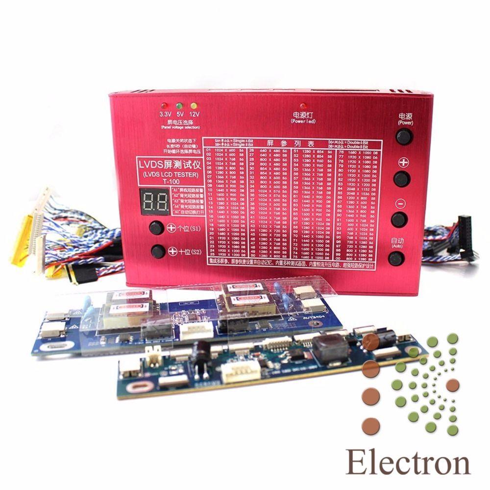 Laptop TV LCD/LED Panel Tester Aluminum Shell for 7-84