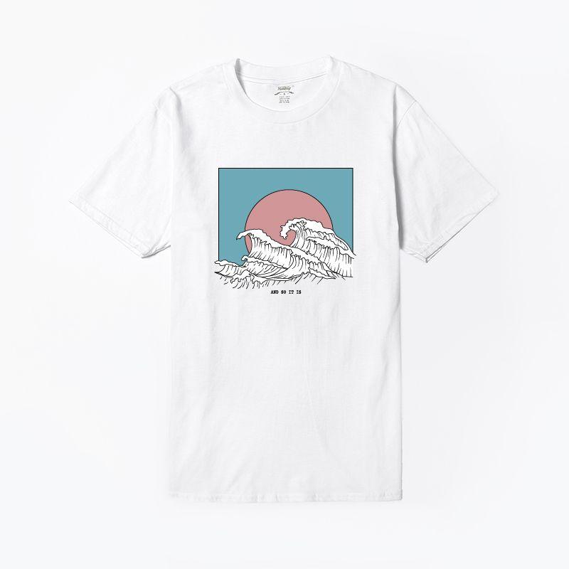 Hillbilly nouveau mode T-shirts pour femmes Harajuku hauts d'été à manches courtes T-shirts grande vague t-shirt femmes Blusa blanc T-shirts et hauts