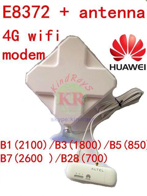 Entriegelte Huawei E8372 + 4g antenne 4G usb modem wifi E8372h-608 4g usb wifi stick dongle 3g 4g auto cpe pk e8278 E8372s-608 e8377
