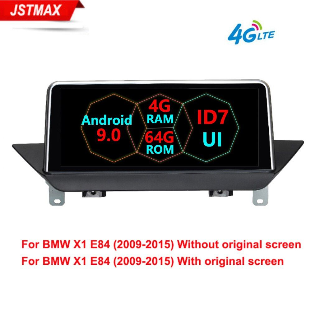 Android 9.0 8Core Auto-radio-player Für BMW X1 E84 2009 2010 2012 2013 2014 2015 iDrive CIC GPS Navigation multimedia 4G LTE WIFI