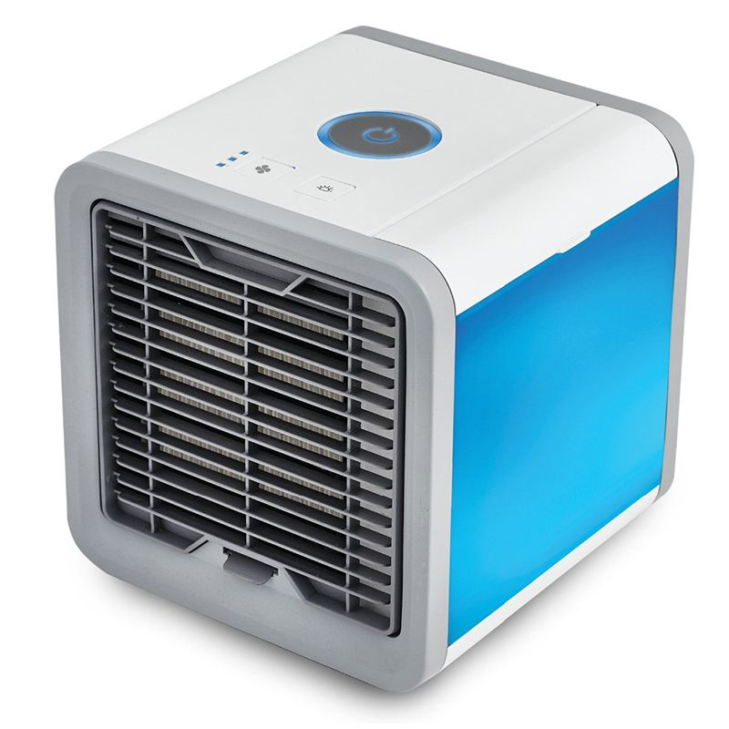 Mini USB fan Portable Air Conditioner cooling portable fan <font><b>cool</b></font> wind Desk Electric Fans air cooler fan for home bedroom office