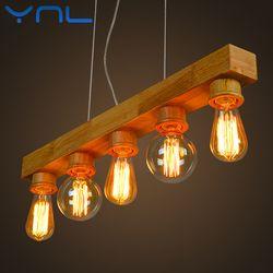 Vintage Edison Bulb E27 ST64 T10 T45 G80 G95 40W Chandelier Pendant Lights 220V LED Lamp Incandescent Light Rope Lamp Holder