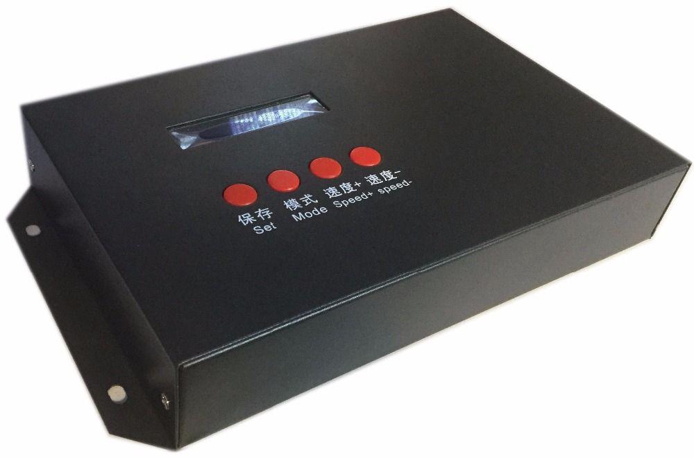 TJZK-V2 offline player für DMX512 controller verwenden, für T300K T500K T200K led controller zu spielen anzeige animation Film