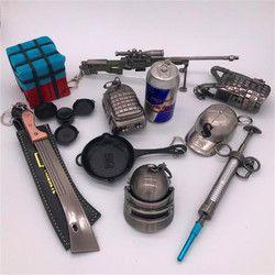 Игры PUBG AWM M24 98 K Все Модель винтовки Playerunknown's боя Косплэй детали костюма сплав Броня подарочная упаковка
