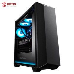 GETWORTH S3 High End Desktop Computer Sonic Radar For PUBG I7 8700K 1080Ti 240G SSD 80 PLUS PSU LOL Water Cooling Cool RGB Light