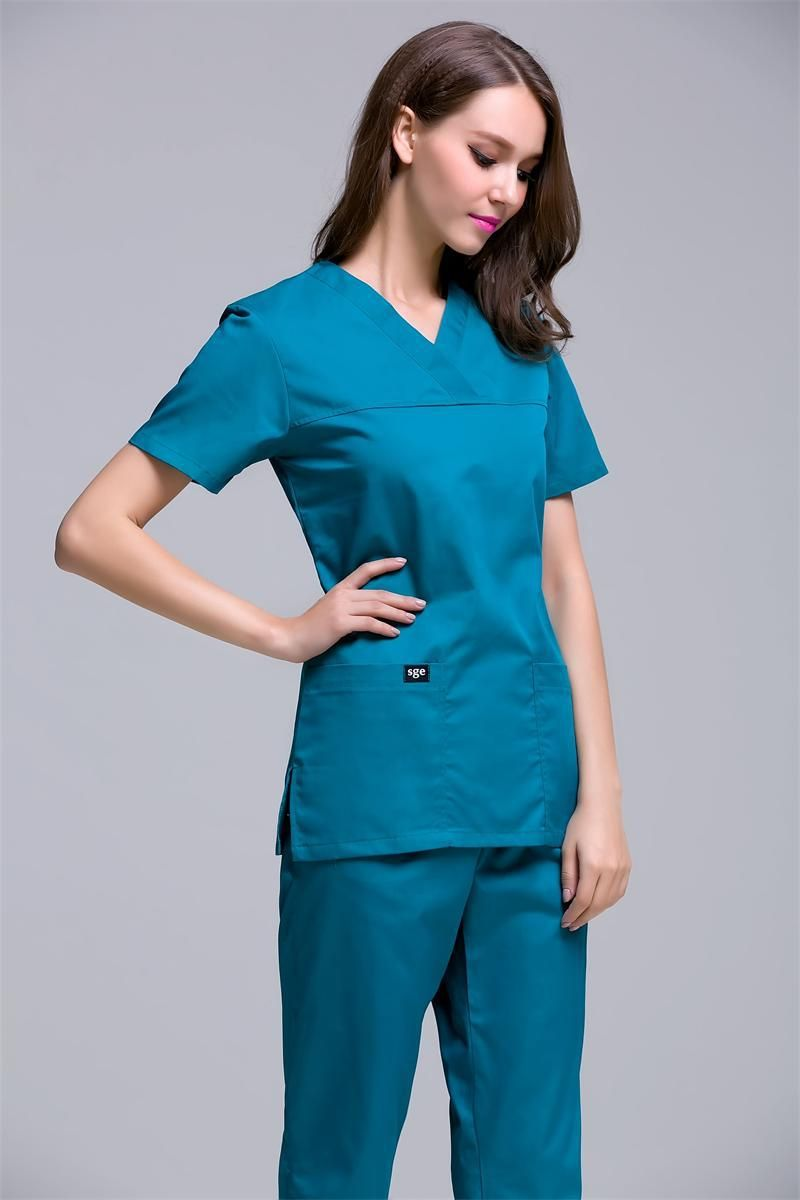 Casquette chirurgicale limitée 2017 vêtements médicaux uniforme hôpital blouse de laboratoire Style coréen femmes gommage vêtements Design de mode respirant