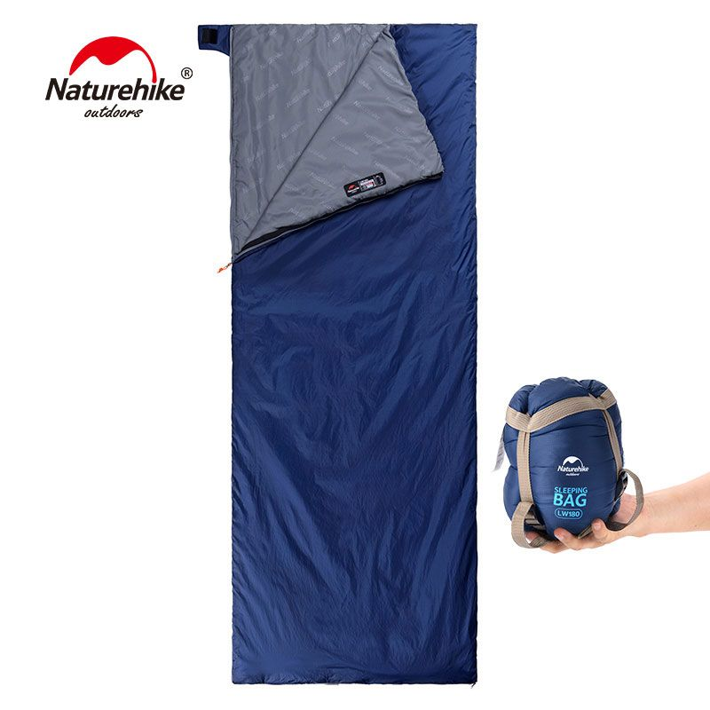 NatureHike 200x85cm Mini Outdoor Ultralight Envelope Sleeping Bag Ultra-small Size For Camping Hiking Climbing NH16S004-L