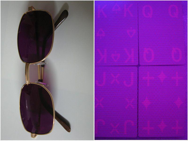 Magic poker home-GK 0010 lunettes de vue et lunettes de vue regardez poker. Lunettes de soleil. Lentilles de contact de perspective de vente,