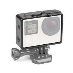 SHOOT Standard Border Frame Case for Gopro Hero 4 3+ Action Camera Go Pro Mount Protective Frame Case for GoPro Hero 4 Accessory