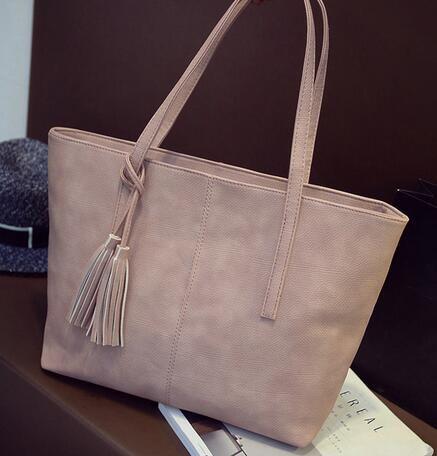 Frauen Handtaschen Marke Mode Einkaufstasche Casual Große PU//B49