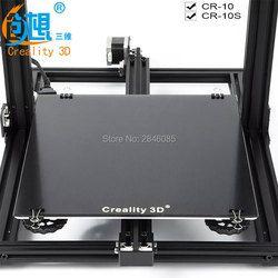Nouveau Creality 3D Ultrabase 3D Imprimante Plate-Forme Chauffée Lit Construire Surface plaque de Verre 310x310x3mm pour MK2 MK3 Chaude lit