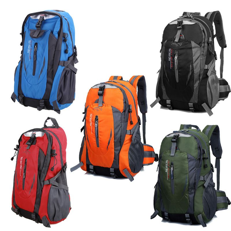 Waterproof Outdoor Climbing Backpack Men Women Camping Hiking Athletic Travel Backpack Unisex Climbing Sport Bags