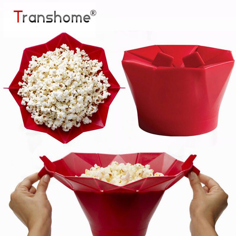 Microwave Silicone Magic Household Popcorn Maker Container Healthy Cooking Tool Kitchen Cooking Tools 2017 New Hot Sell