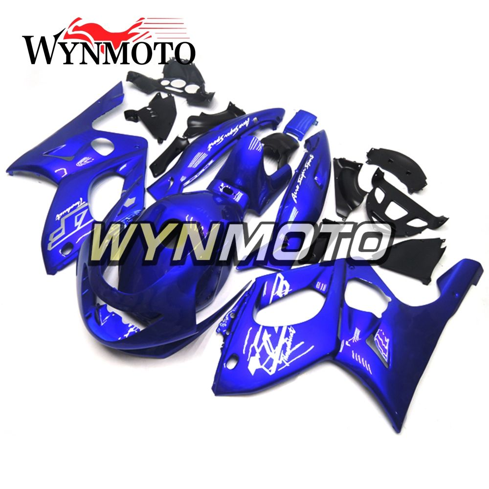 Royal Blue Complete ABS Injection Plastics Fairings For Yamaha YZF600R Thundercat 1997 - 2007 Motorcycle Fairing Kit Cowlings