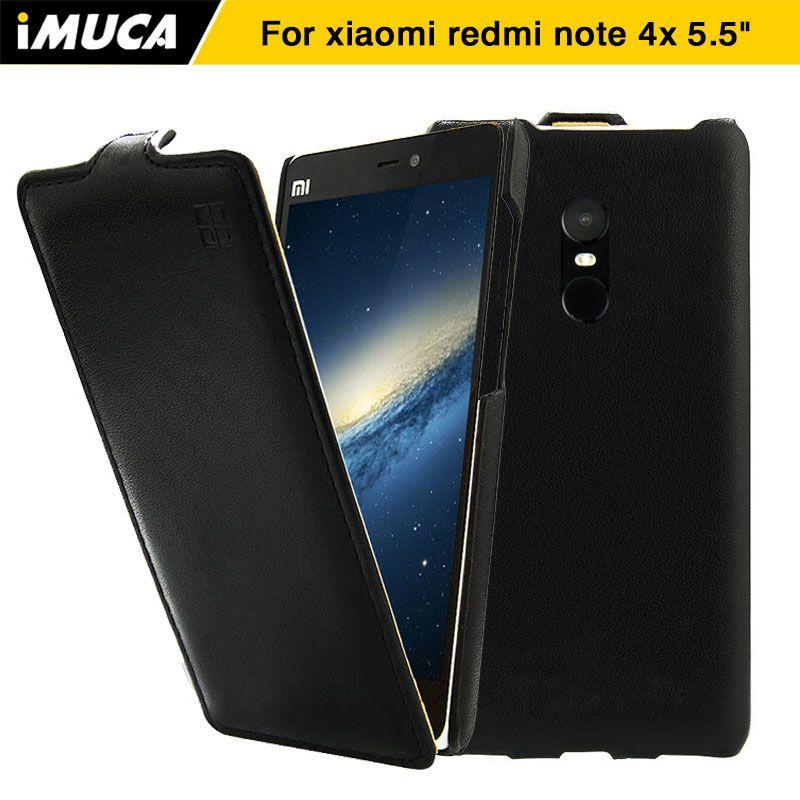 Für Xiaomi Redmi Hinweis 4x Fall Cover iMUCA Flip Ledertasche für Xiaomi Redmi Hinweis 4x Pro Telefon Fall Xiaomi Redmi Hinweis 4x Abdeckung
