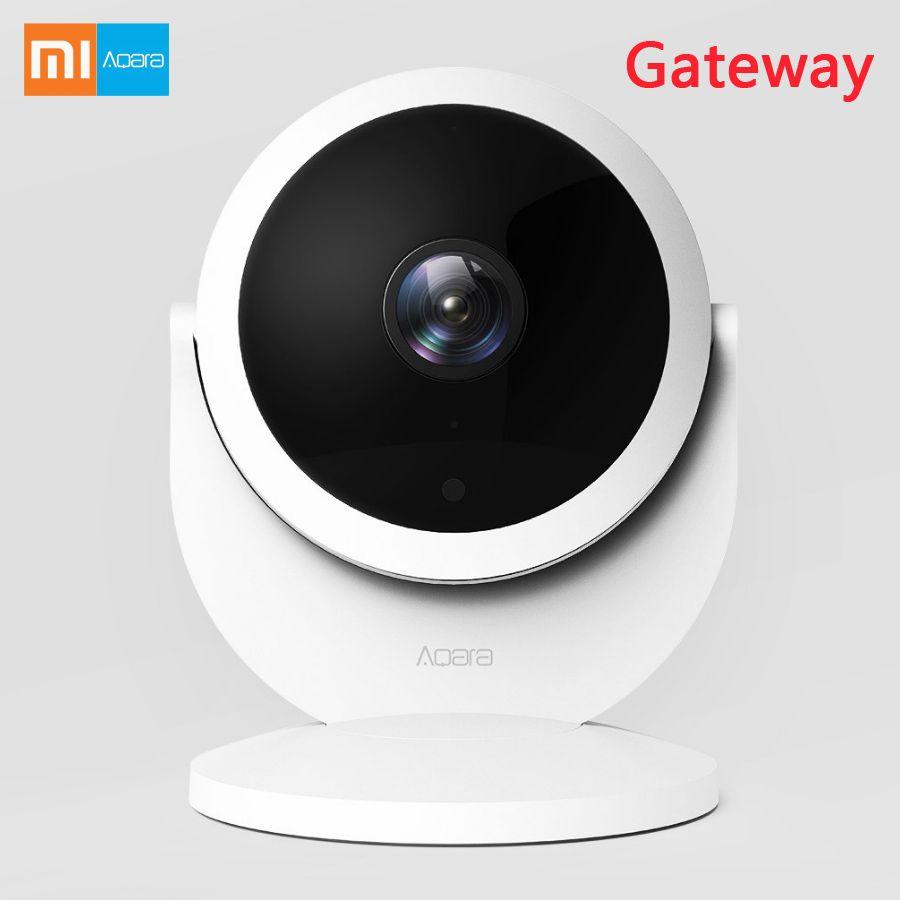 Xiaomi Aqara 1080P HD Smart  Wireless  WIFI  IP Night Vision 180-Degree Wide View  Camera with Gateway Version Linkage Alarm APP