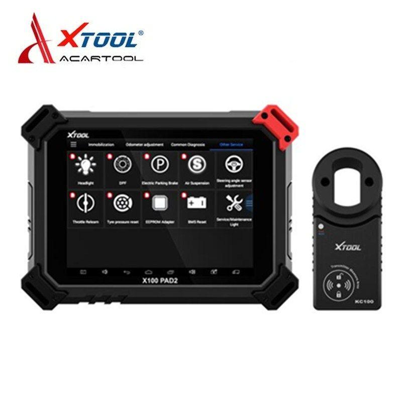 XTOOL X100 PAD2 Pro Auto Schlüssel Programmierer Kilometerzähler Einstellung Auto Diagnose Werkzeug Für VW 4th & 5th Wegfahrsperre