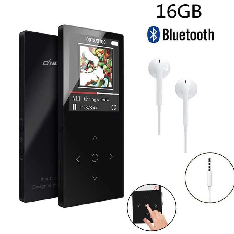 Original MP3 Player Bluetooth with 16GB 1.8