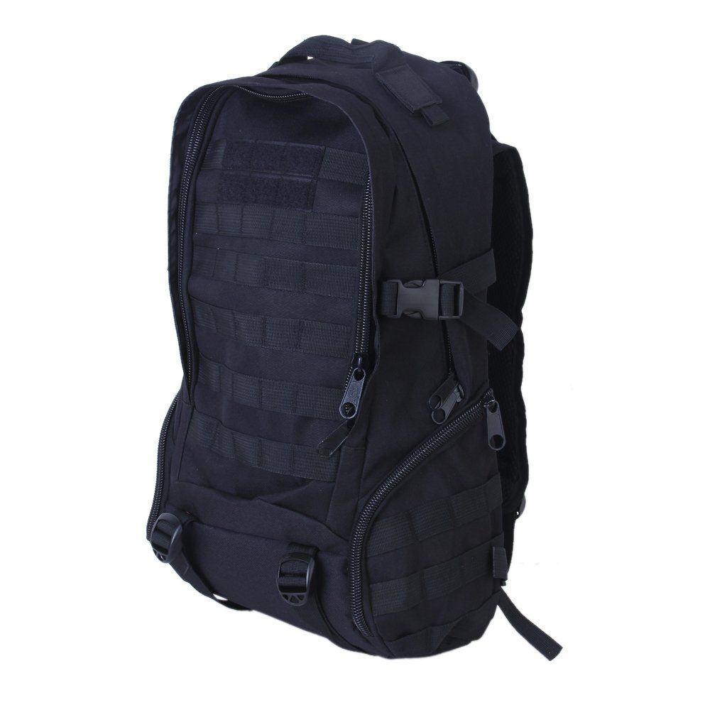 35L outdoor backpack camping hiking mountaineering bag Black
