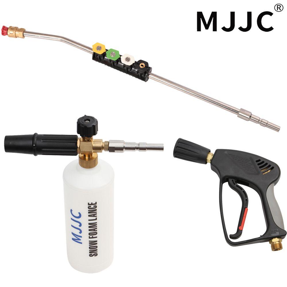 Mjjc бренд высокого Давление шайба пистолет, палочка пена пистолет комплект для nilfisk/Кью/WAP/IPC Профессиональный быстрое подключение автомобил...