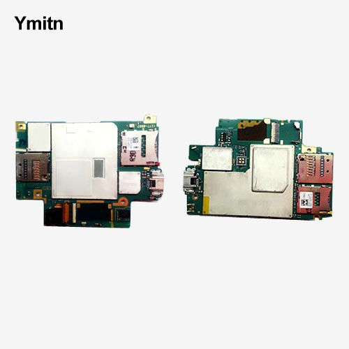 Ymitn Unlocked Mobile Electronic panel mainboard Motherboard Circuits Flex Cable For Sony xperia Z3 D6683 D6653 SOL26 Z3V