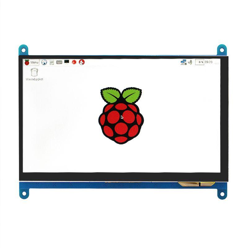 Raspberry Pi 3 Modèle B LCD Affichage 7 pouce TFT HDMI 800*480 LCD avec Écran Tactile pour Raspberry pi 2/3 Livraison Gratuite