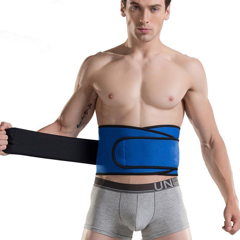 Haute Élastique Étanche Ceinture Ajustable Taille Soutien Brace Fitness Gym Lombaire Retour Taille support Protection Pour La Sécurité De Sport