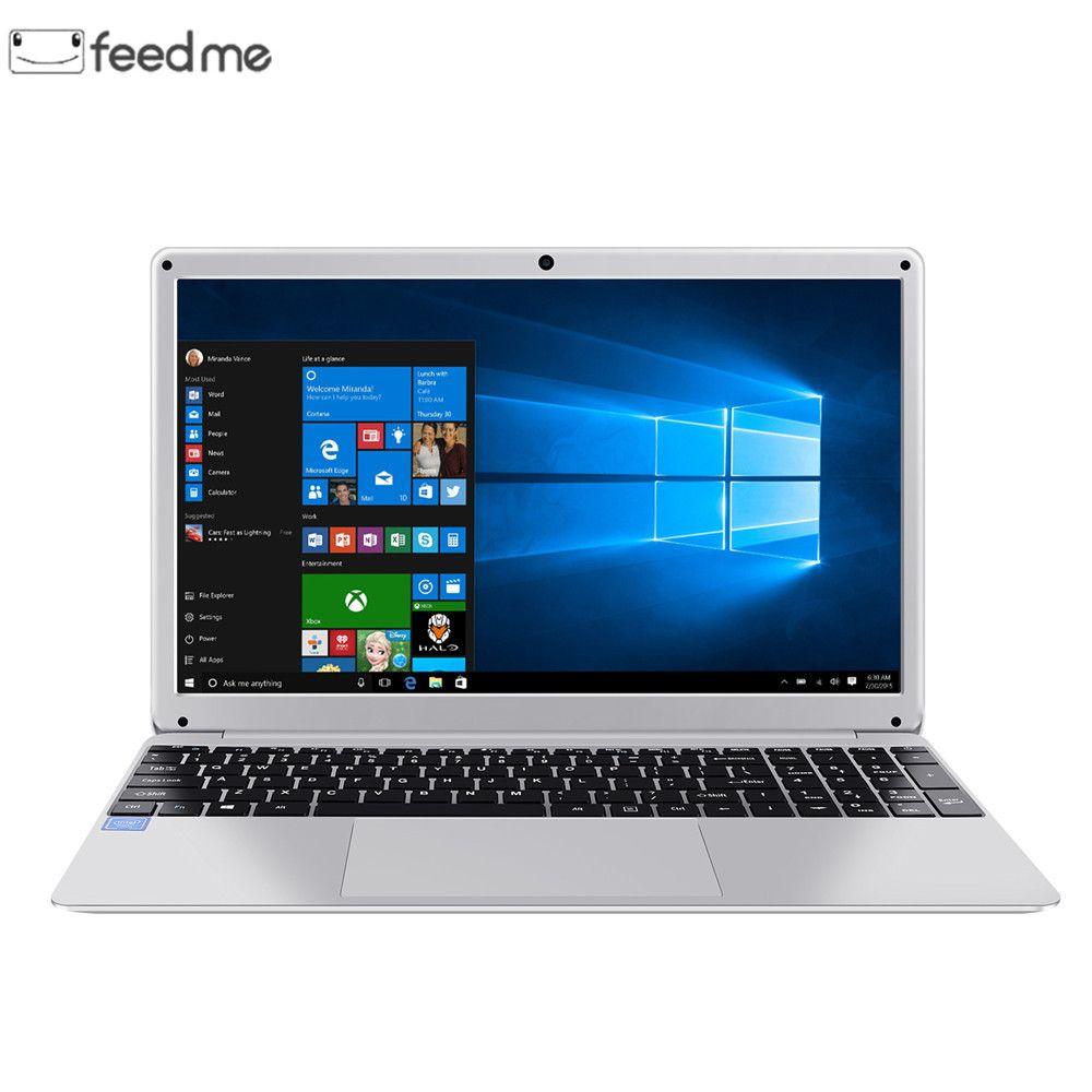 15,6 Zoll 1920*1080 Laptop Windows 10 Intel E8000 Quad Core 4GB RAM 64GB ROM Notebook mit Voller layout Tastatur