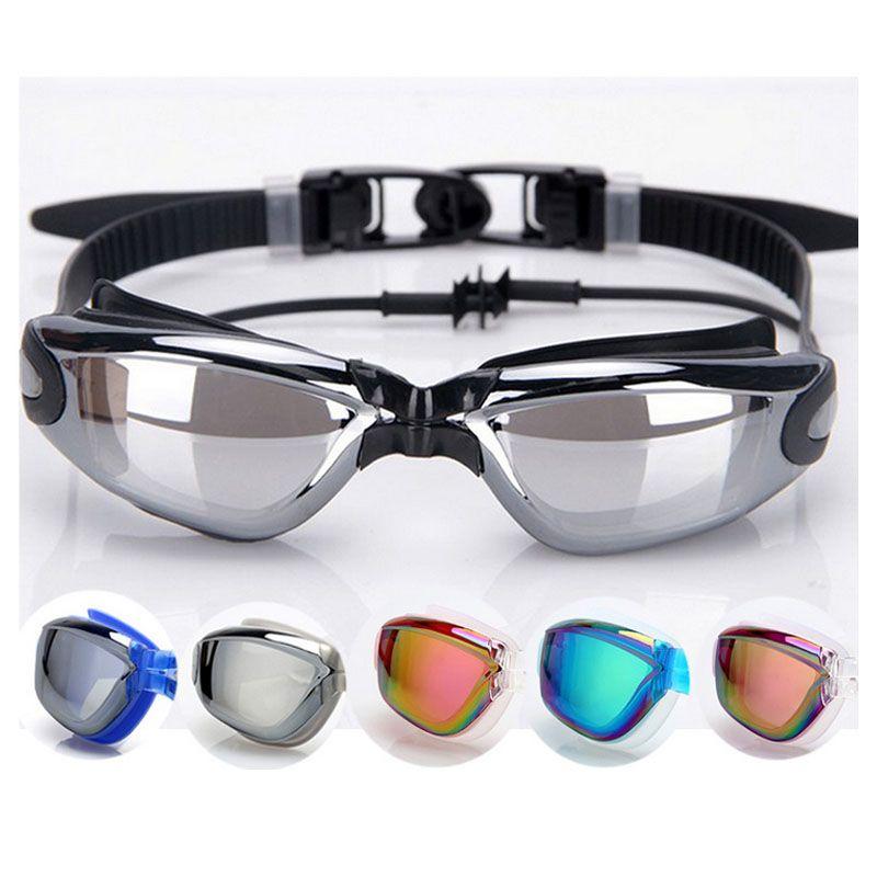 Gojoy Professionnel lunettes De Natation avec bouchon d'oreille adulte silicon Natation lunettes anti brouillard natation lunettes D'été verres à eau