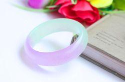 Es jenis violet warna emerald kuarsa batu giok gelang asli gelang giok perempuan gelang