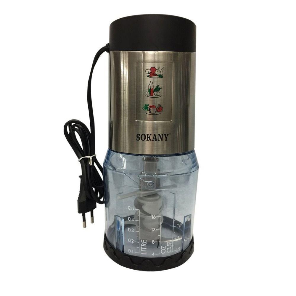 Multifunctional Electric Mixer Meat Grinder Mincing Machine Fruit Juicer Household Electric Blender Smoothie Milkshake Maker EU
