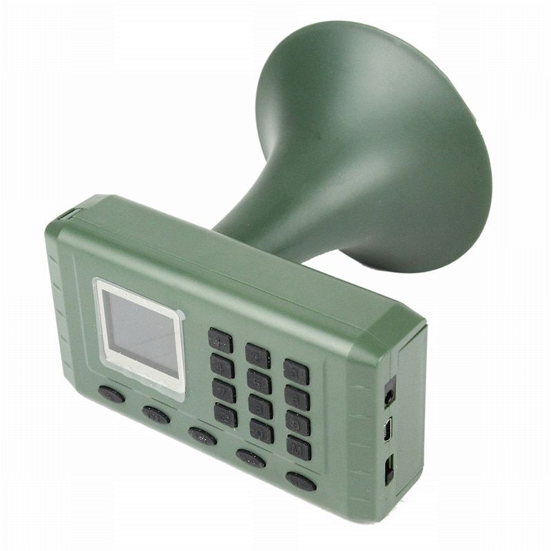 Hunting Decoy Bird Caller Birds Sound Loudspeaker Electronics Built-in Mp3 Player with Remote Control Timer Playing Loudspeaker