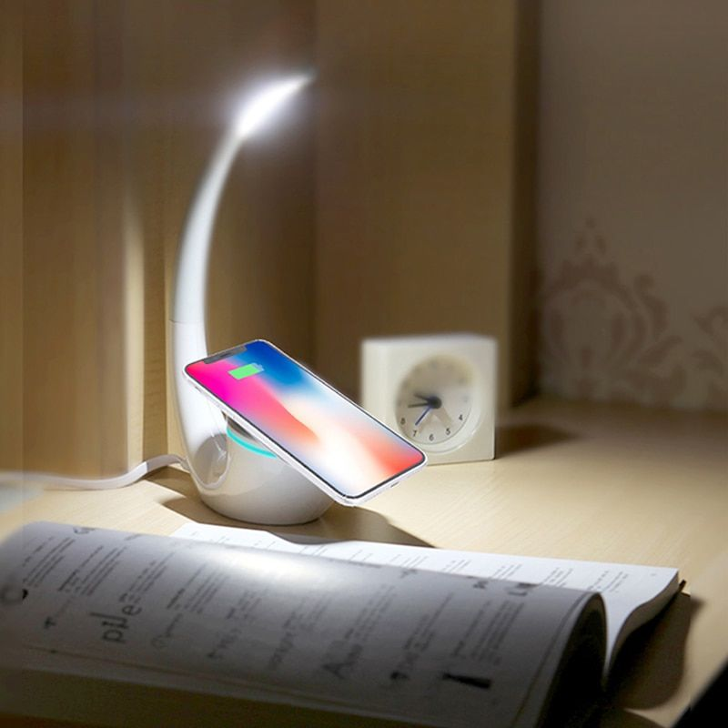 Nillkin QI Intelligent Wireless Charger <font><b>Charging</b></font> Mat Energy Save Phantom wireless charger lamp for iPhone for Samsung S8 Note 8