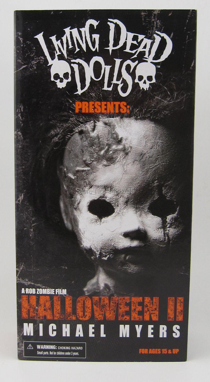 Hot Living Dead Dolls Halloween 2 Killer Michael Myers Kid Version Classic Rob Zombie Horror Film Mezco 11