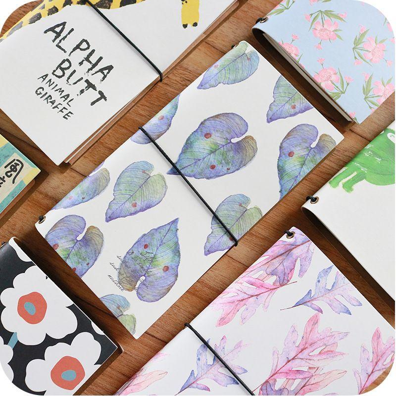 JIANWU Viajero del cuaderno de Dibujos Animados lindo del cuaderno diario de LA PU manual de Eficiencia planificador diario kawaii Útiles Escolares